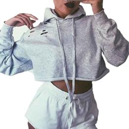 Bluse, STEPEN Frauen Hoodie Sweatshirt Pullover Strickjacke Coat Sport Tops (XL) -