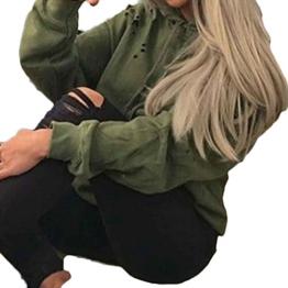 Bluse, STEPEN Frauen lösen Langarm-Sweatshirt Pullover Tops Shirt Coat -