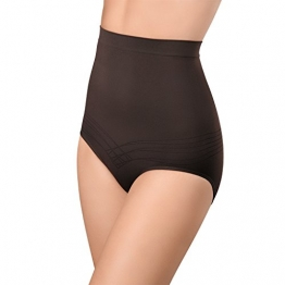 Damen Seamless Form-Slip Dunkelbraun-XL - 1