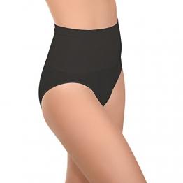 Damen Seamless Form-Slip Schwarz-XL - 1