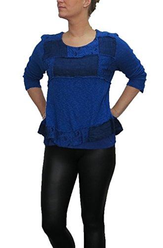 lagenlook bluse von sarah santos shirt auch in gro en. Black Bedroom Furniture Sets. Home Design Ideas