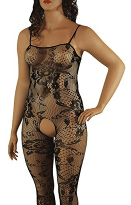 VIARDI® Raffinierter Bodystocking in L - XXL -